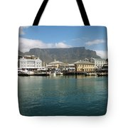 Victoria And Alfred Waterfront Tote Bag by Oliver Johnston