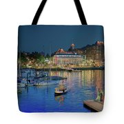 Victoria At Night Tote Bag