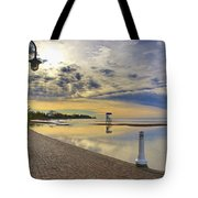Victoria Beach Early Morning  Tote Bag