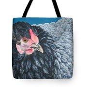 Victoria, Lavender Cochin Chicken Tote Bag