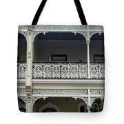 Victoria Street Balcony Tote Bag