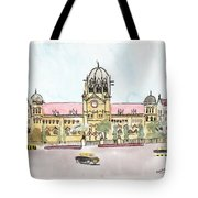 Victoria Terminus Tote Bag
