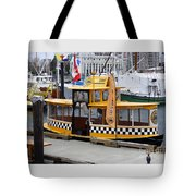Victoria Water Taxi Tote Bag
