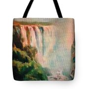 Victoria Waterfalls L B Tote Bag