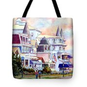 Victorian Cape May New Jersey Tote Bag
