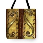 Victorian Door Pulls Tote Bag