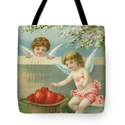 Victorian Era Valentine Card Tote Bag