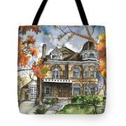 Victorian Mansion Tote Bag