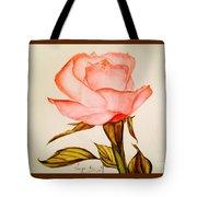 Victorian Rose  Tote Bag