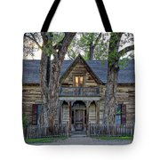 Victorian Sedman House In Montana State Tote Bag