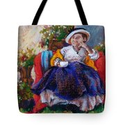Victorian Tea Time Tote Bag