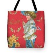 Victorian Valentine Tote Bag