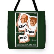Victory Book Campaign - Wpa Tote Bag