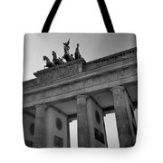 Victory Of Brandenburg Gate Tote Bag