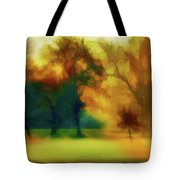Victory Park Painted Tote Bag