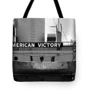 Victory Ship Tote Bag