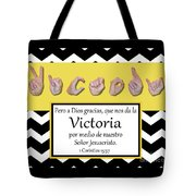Victory Spanish Tote Bag