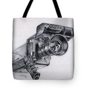Video Camera, Vintage Tote Bag