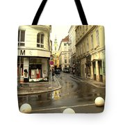Vienna Corner After The Rain Tote Bag