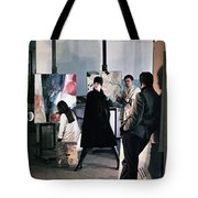Vienna Fashion Shoot 1968 Tote Bag