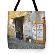 Vienna Girl And Dog Tote Bag