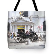 Vienna Horse And Carriage Tote Bag