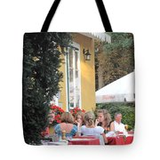Vienna Restaurant In The Park Tote Bag