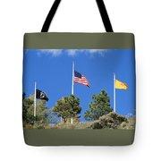 Vietnam Memorial Angel Fire New Mexico Tote Bag