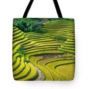 Vietnam Rice Terraces Tote Bag