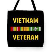 Vietnam Veteran Ribbon Bar  Tote Bag