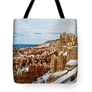 View Along The Ridge Tote Bag