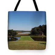 View Down To The Ashley River At Middleton Place Plantation Charleston Tote Bag