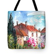 View From The Trefle Window In Albi Tote Bag