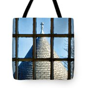 View From A New England Turret Tote Bag