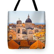 View From Above Of Dubrovnik Tote Bag