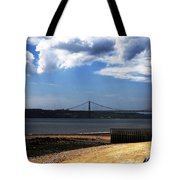 View From Across The Tagus Tote Bag