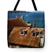 View From Alcatraz Tote Bag