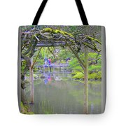 View From An Arbor Tote Bag