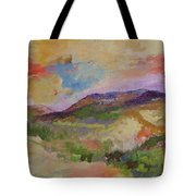 View From Angola Tote Bag