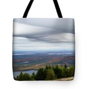 View From Cadillac Mountain Tote Bag