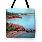 View From Cape Bear Tote Bag