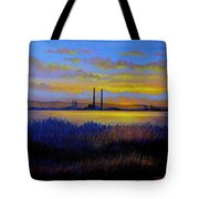 View From Clontarf - Dublin Tote Bag