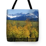 View From Hwy 62, Ouray County, Co Tote Bag