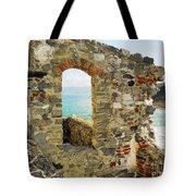 View From Doria Castle In Portovenere Italy Tote Bag