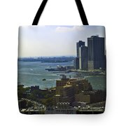 View From Dumbo Tote Bag