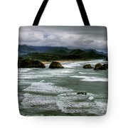 View From Ecola Tote Bag