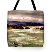 View From Ecola II Tote Bag