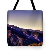 View From Eleven Ranges Overlook Tote Bag
