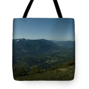 View From Elk Mountain Tote Bag