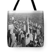View From Empire State Bldg. Tote Bag